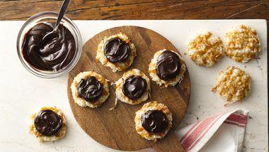 Coconut-Butterscotch-Fudge Cookies