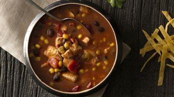 Slow-Cooker Chicken Taco Soup