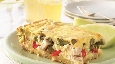 Chicken-Asparagus Quiche