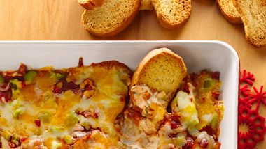 Layered Pizza Dip