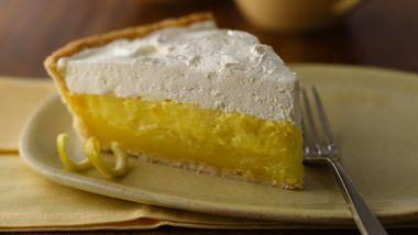Pineapple-Lemon Layered Pie