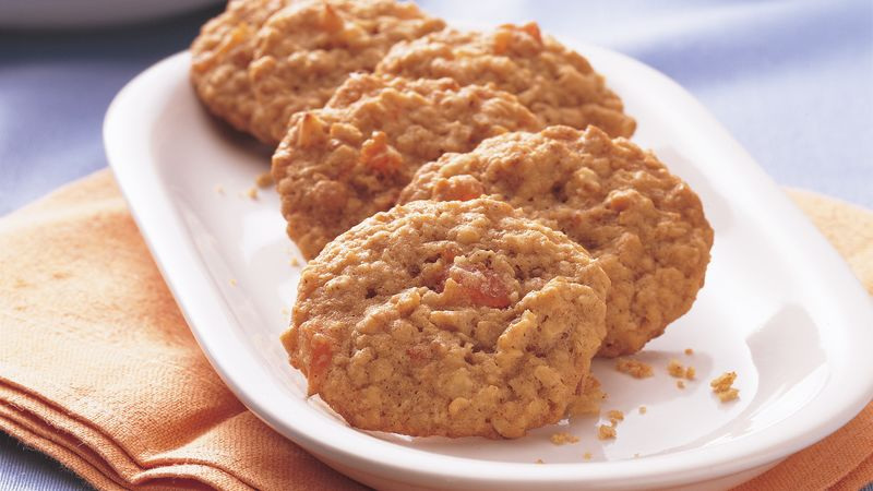 Apricot Oatmeal Cookies