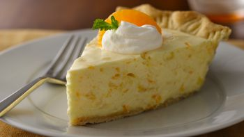 Tropical Fruit Chiffon Pie