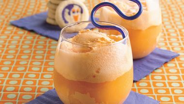 Orange Cream Halloween Floats