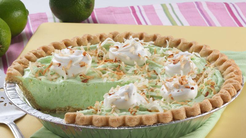 Creamy Lime Colada Pie
