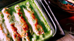 Mexican Style Spinach Enchiladas