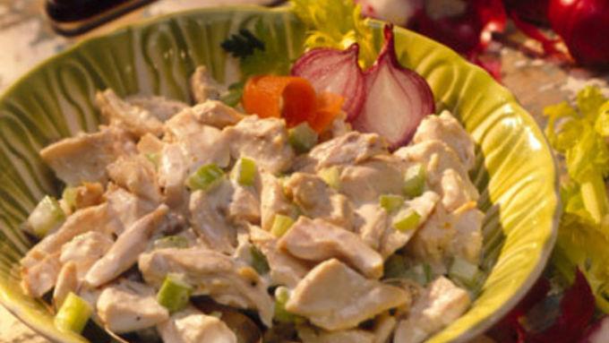 Chicken Salad on Focaccia