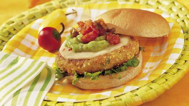 Zesty White Bean Burgers