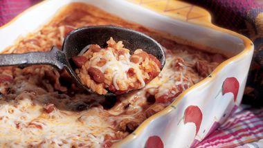 Chili Rice con Queso