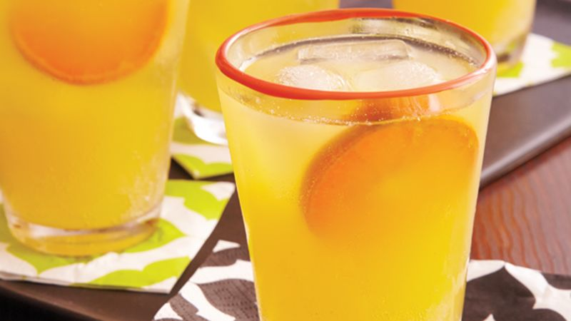 Blood Orange-Rum Punch recipe from Betty Crocker