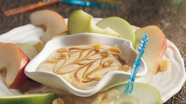 Gingered Caramel and Yogurt Dip