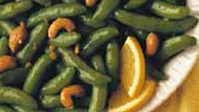 Cashew Orange Sugar Snap Peas