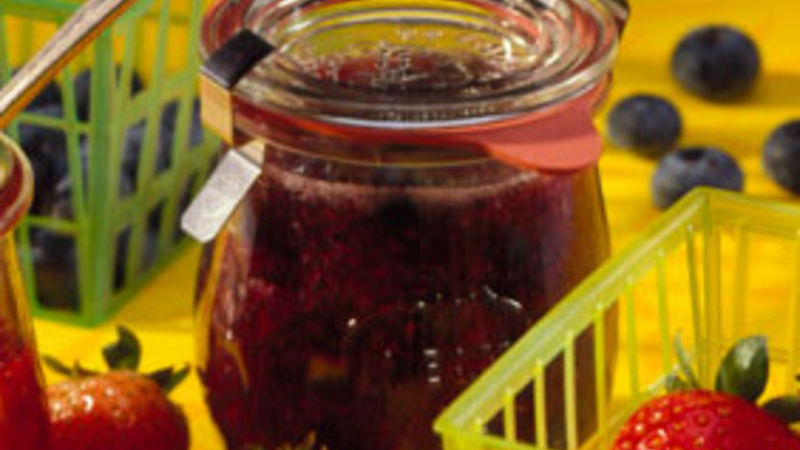 Blueberry Freezer Jam