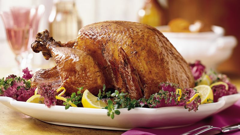 Lemon-Herb Grilled Turkey