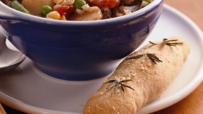 Parmesan-Herb Breadsticks