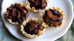 Tartaletas de Chocolate Mexicano Picante