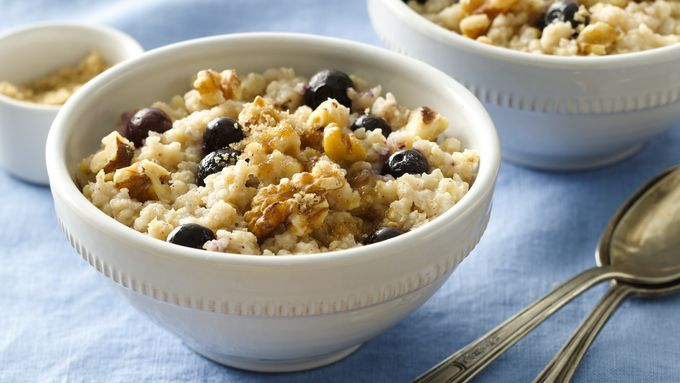 Gluten-Free Blueberry Breakfast Millet