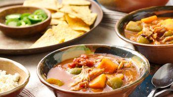 Southwestern Turkey Soup