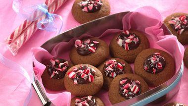 Espresso Thumbprint Cookies (Cookie Exchange Quantity)