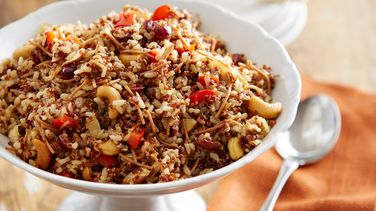 Arroz Moro with Quinoa and Cranberries