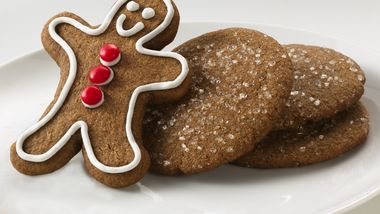 Classic Gingerbread Man Cookies