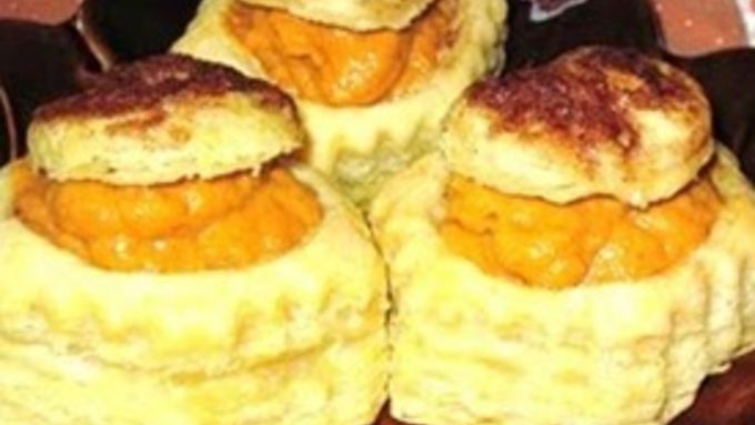 Pumpkin Mousse In Cinnamon Pastry Shells