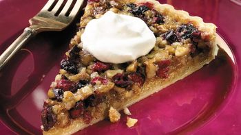 Walnut-Cranberry Tart