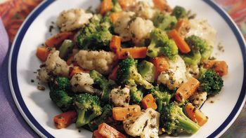 Pesto Vegetables