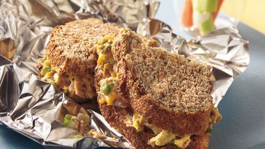 Grilled Stuffed Tuna Melts