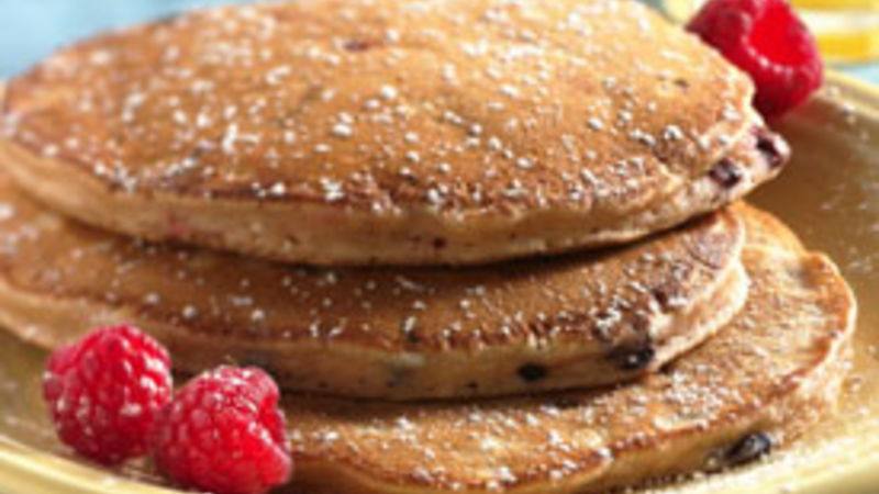 Triple Berry Pancakes