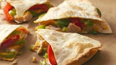 Fiesta Chicken Quesadillas