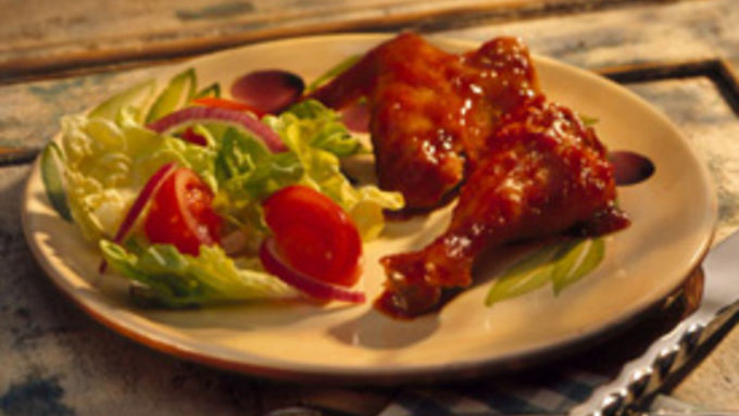Oven-Barbecued Chicken