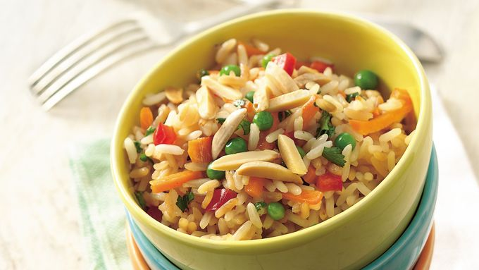 Slow-Cooker Spring Rice Pilaf