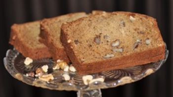 Nutty Dark Banana Bread
