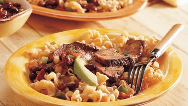 Chili Diablo Steak and Pasta