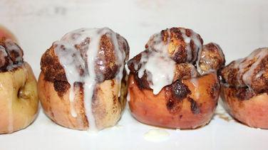 Monkey Bread-Stuffed Apples