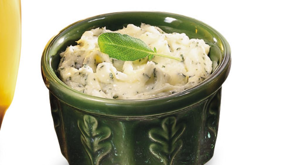 Honey-sage Whipped Butter