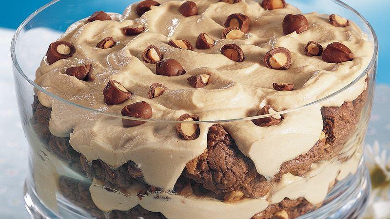 Chocolate Peanut Butter Silk Trifle