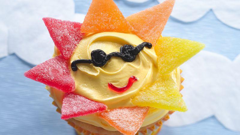 Mr. Sun Cupcakes