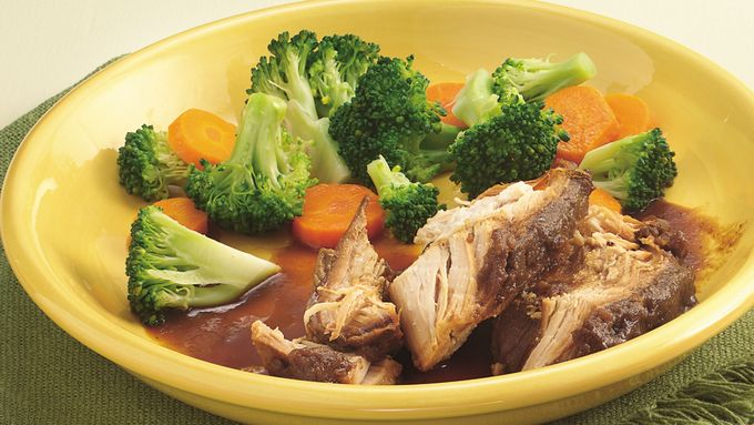 Slow-Cooker Turkey Breast with Cranberry-Onion Gravy ...