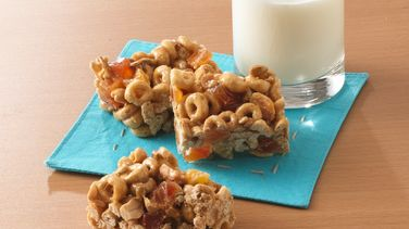Barras de Fruta con Honey Nut Cheerios®