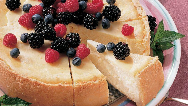 New York Cheesecake (lighter recipe)