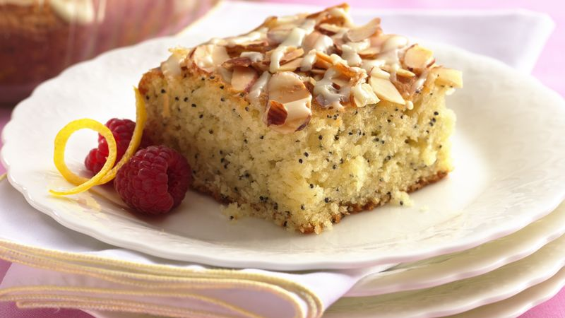 Lemon-Poppy Seed Coffee Cake