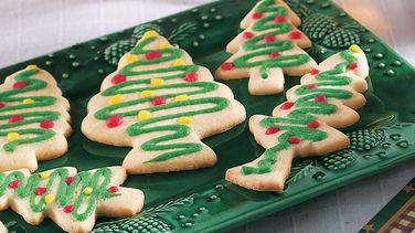 Trimmed Tree Cookies