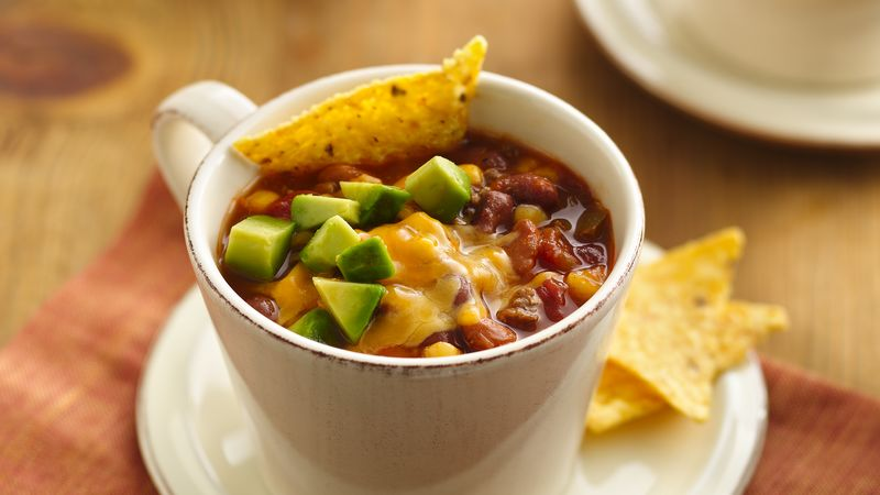 Slow-Cooker Southwest Beef and Bean Soup
