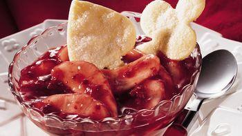 Raspberry-Pear Dessert