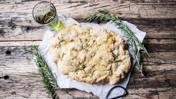Rosemary Olive Oil Beer Bread