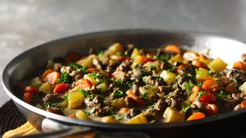 Skillet Ground Beef Stew