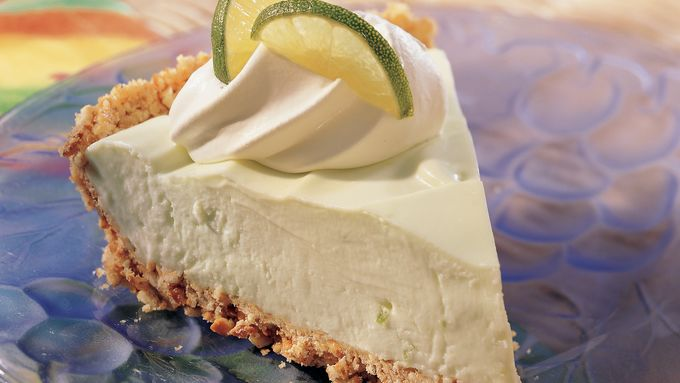 Fluffy Key Lime Pie (lighter recipe)