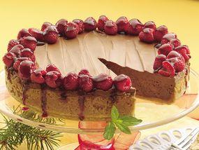 Chocolate Silk Raspberry Tart